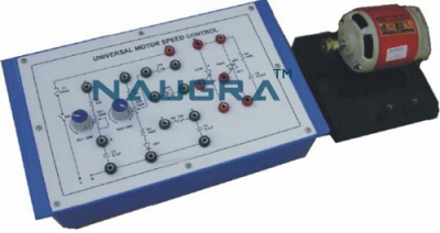 Power Electronic Training Board for Universal Motor Speed Control for Vocational Training and Didactic Labs