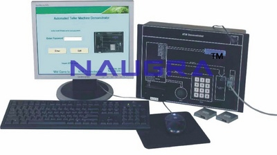 ATM Trainer & ATM Demonstrator Kit for Vocational Training and Didactic Labs