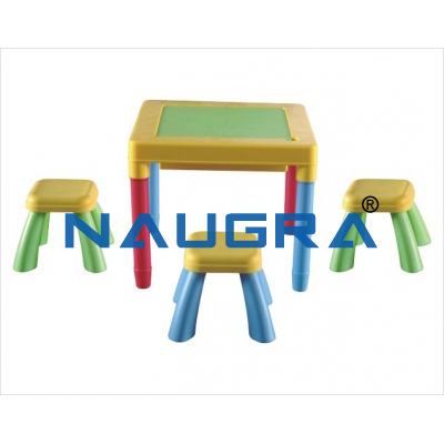 Student desks and chairs for Maths Lab