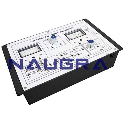 Voltage to Current Converter Trainer for Vocational Training and Didactic Labs