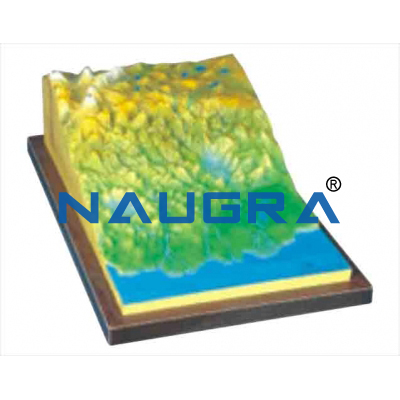 Model of Crustal Movement for Earth Science Lab