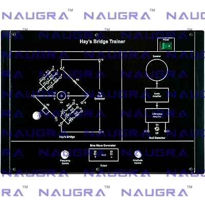 Hay`s Bridge Trainer for Electronics Teaching Labs