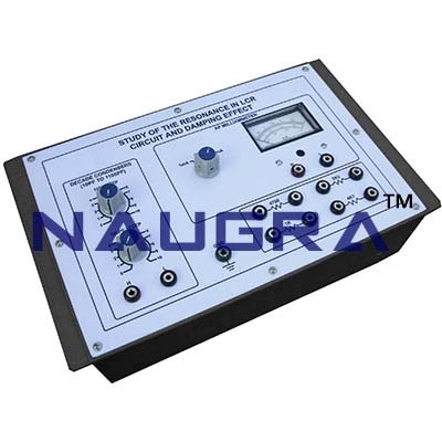 Electromagnetic Damping  Trainer for Vocational Training and Didactic Labs