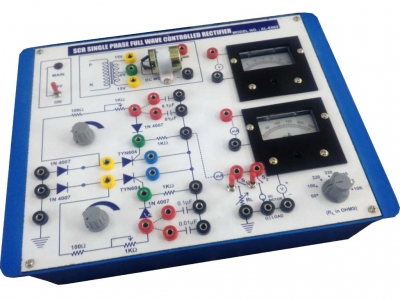 Single Phase Half Wave & Bridge Controlled Rectifier for Power Electronics Training Labs for Vocational Training and Didactic Labs