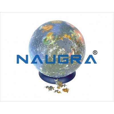 Concatenation globe for Earth Science Lab