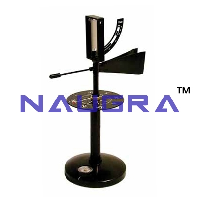 Anemometer With Vane for Earth Science Lab