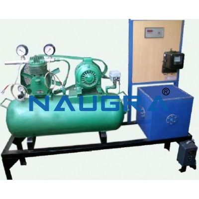 Double Stage Air Compressor Test Rig for engineering schools
