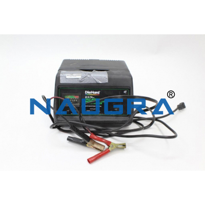 Fully Automatic Battery Charger Automobile Engineering Model and Training System for engineering schools