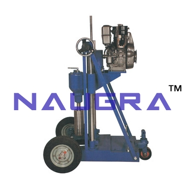 Core Cutting & Drilling Machines (Diesel Engine Driven) for Rock Testing Lab