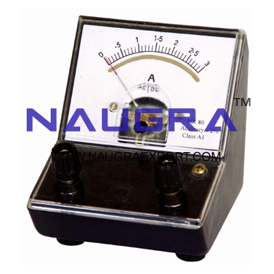 Meter - Moving Coil Microammeter for Physics Lab