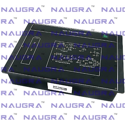 SCR Triggering Circuits Trainer for Power Electronics Teaching Labs