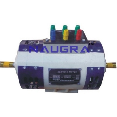 3 Phase Wound Rotor Slipring Motor for Electrical Lab