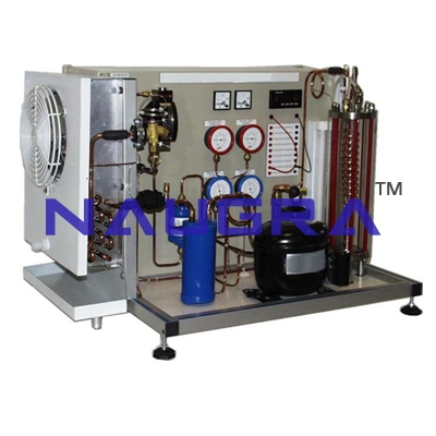 High School Science Lab Supplies -  Refrigeration Training System for Teaching Equipments Lab