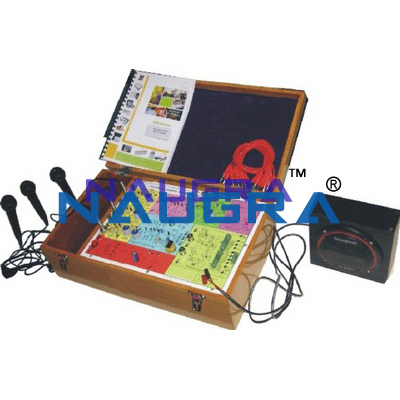PA System Trainer & Lab Kit for Vocational Training and Didactic Labs