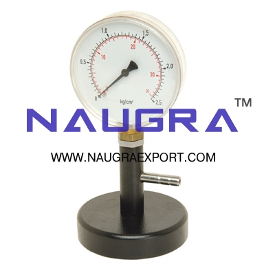 Bourdon Gauge for Physics Lab