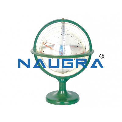 Transparent star globe for Earth Science Lab