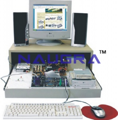 Multimedia Computer Trainer & Lab Training Kit for Vocational Training and Didactic Labs