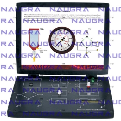 Pressure Transducer Trainer for Instrumentation Electric Labs