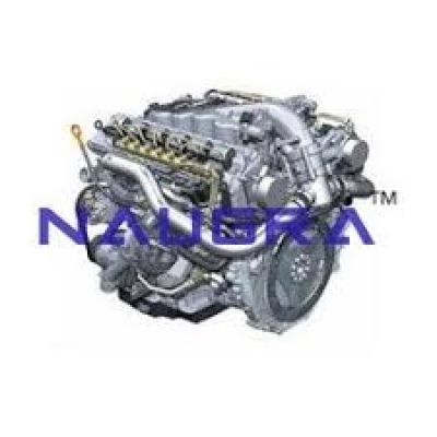 Motor Car Engine Diesel Automobile Engineering Model and Training System for engineering schools