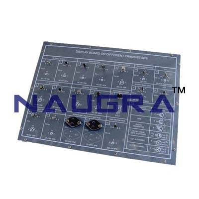 Complementary Symetry Transistors Trainer for Vocational Training and Didactic Labs