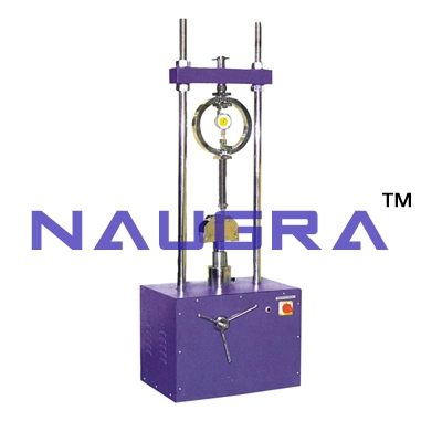 Flexure Testing Machine (Motorised) For Testing Lab for Cement Testing Lab