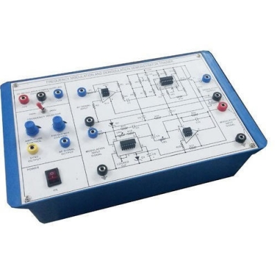 Frequency Modulation And Demodulation  Trainer