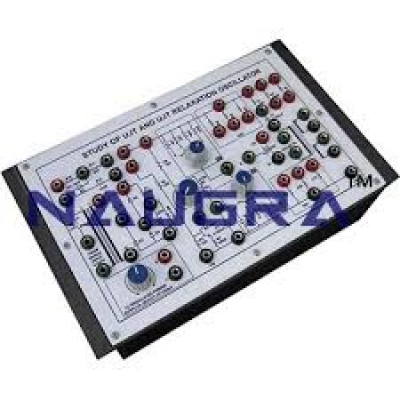 UJT Relaxation Oscillator Trainer for Power Electronics Training Labs for Vocational Training and Didactic Labs