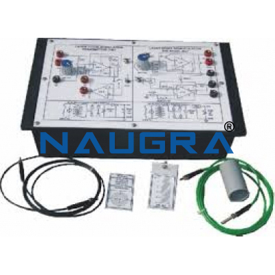 Optical Fibers Communication Trainer