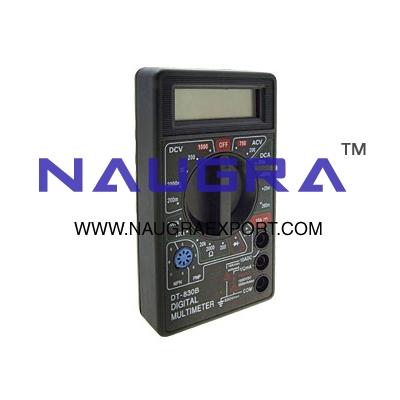 Multimeter Digital 3� digit LCD - Economy for Physics Lab