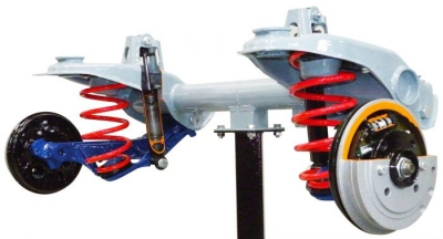 Sectioned Rear Axle for Sedan with Independent Rear Suspension  Trainerfor engineering schools