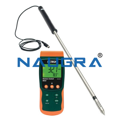 Moisture Content Meter and Datalogger