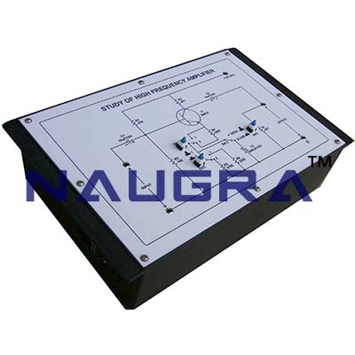 High Frequency Amplifier Trainer for Vocational Training and Didactic Labs