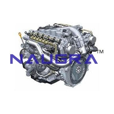 Motor Car Engine Petrol Automobile Engineering Model and Training System for engineering schools
