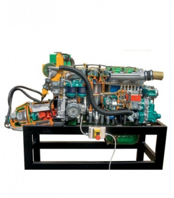 Sectioned Outboard Trainer Engine, 2 cylinderfor engineering schools
