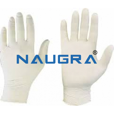 GLOVES LATEX DISPOSABLE for Chemistry Lab