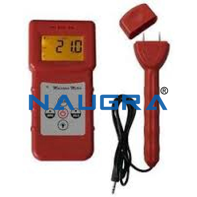 Electronic (Moisturecontent and temp.) meter