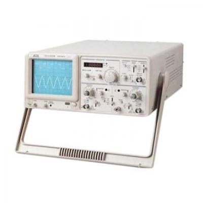 Analog Oscilloscope (Toshiba CRT)