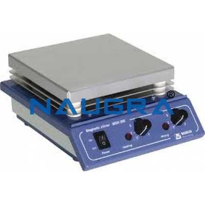 MAGNETIC STIRRER WITH HOT PLATE for Chemistry Lab