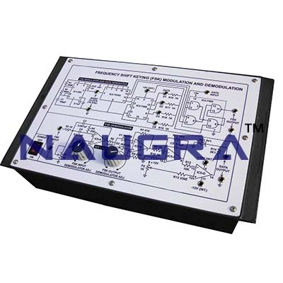 Frequency Shifting Keying Modulation Trainer for Vocational Training and Didactic Labs