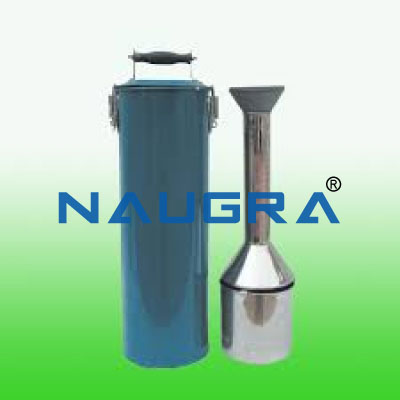 Soil Humidity And Density Apparatus