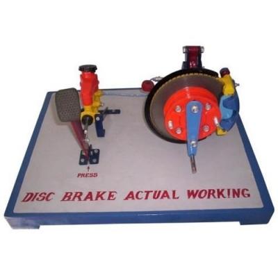 Mechanical Disc Brake - Working Model