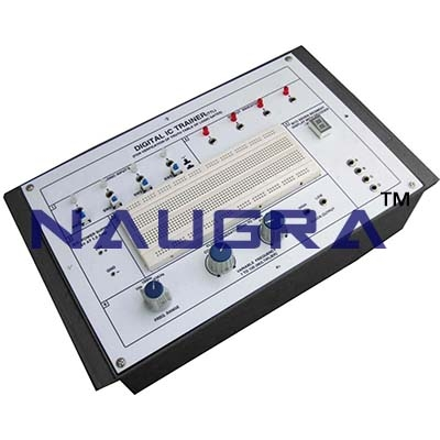 Digital IC Tester Trainer for Vocational Training and Didactic Labs