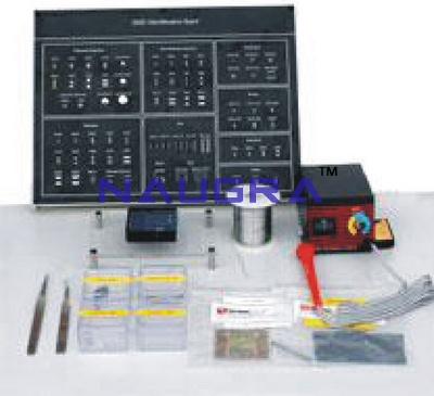 SMD Technology Trainer & Lab Kit for Vocational Training and Didactic Labs