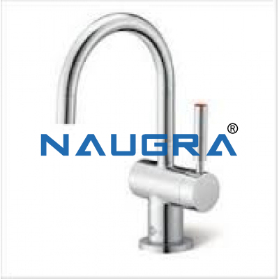 WATER TAP, SWAN NECK for Chemistry Lab