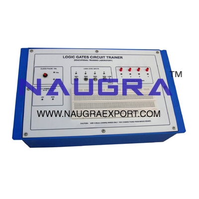 Logic Gates Circuit Trainer for Vocational Training and Didactic Labs