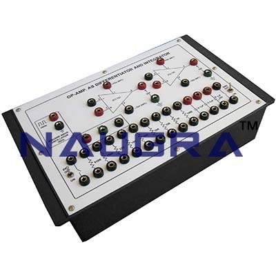 OP Amp as Differentiator and Integrator Trainer for Vocational Training and Didactic Labs