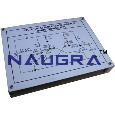 Multivibrators 1 Trainer for Vocational Training and Didactic Labs