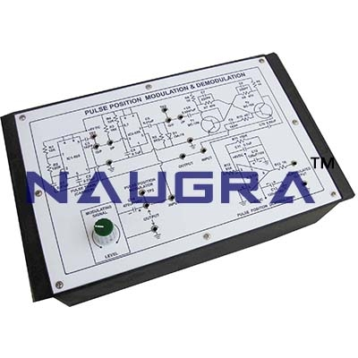 Laser Diode Intensity Modulation Trainer for Vocational Training and Didactic Labs