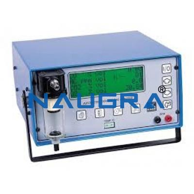Exhaust gas analyzer
