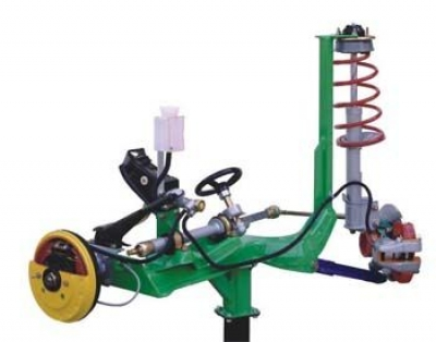 Sectioned Front Suspension Unit Trainer for engineering schools